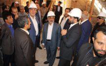بازدید از کاروانسرای وکیل ومجموعه گنجعلی خان