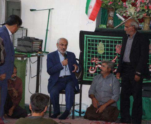 بازدید و پیگیری مشکلات روستای حرمک