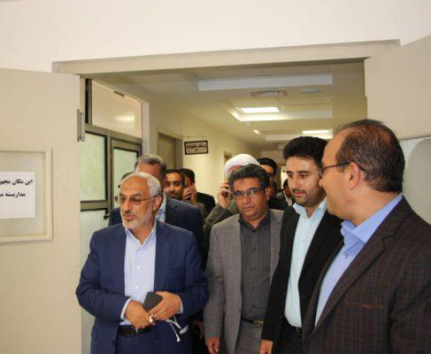 بازدید از مرکز سلامت شبانه روزی شهر گلباف