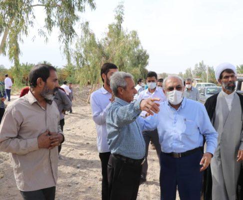 گزارش تصویری/حضور در جمع مردم سیل زده مناطق شهداد و گلباف