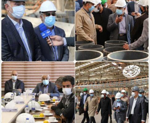 خبر خوب پروفسور زاهدی : سرمایه گذاری ۱۰۰۰ میلیارد تومانی برای توسعه کارخانه فولاد راور