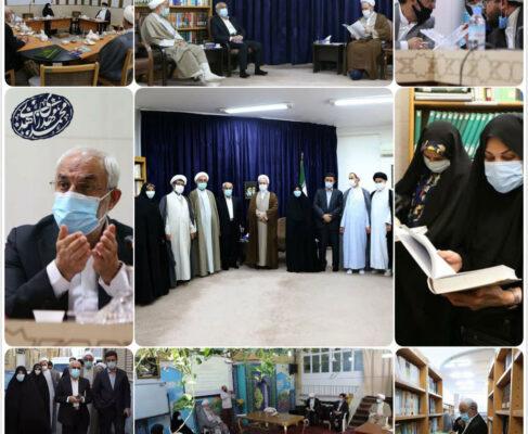 گزارش تصویری دیدار و بازدیدهای محمدمهدی زاهدیرئیس فراکسیون مهدویت مجلس
