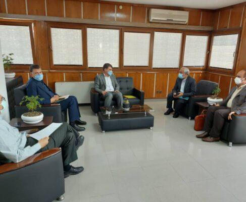 توافقات اولیه جهت عملیاتی نمودن پروژه خط انتقال آب شرب به کرمان از خط انتقال آب خلیج فارس به استان کرمان